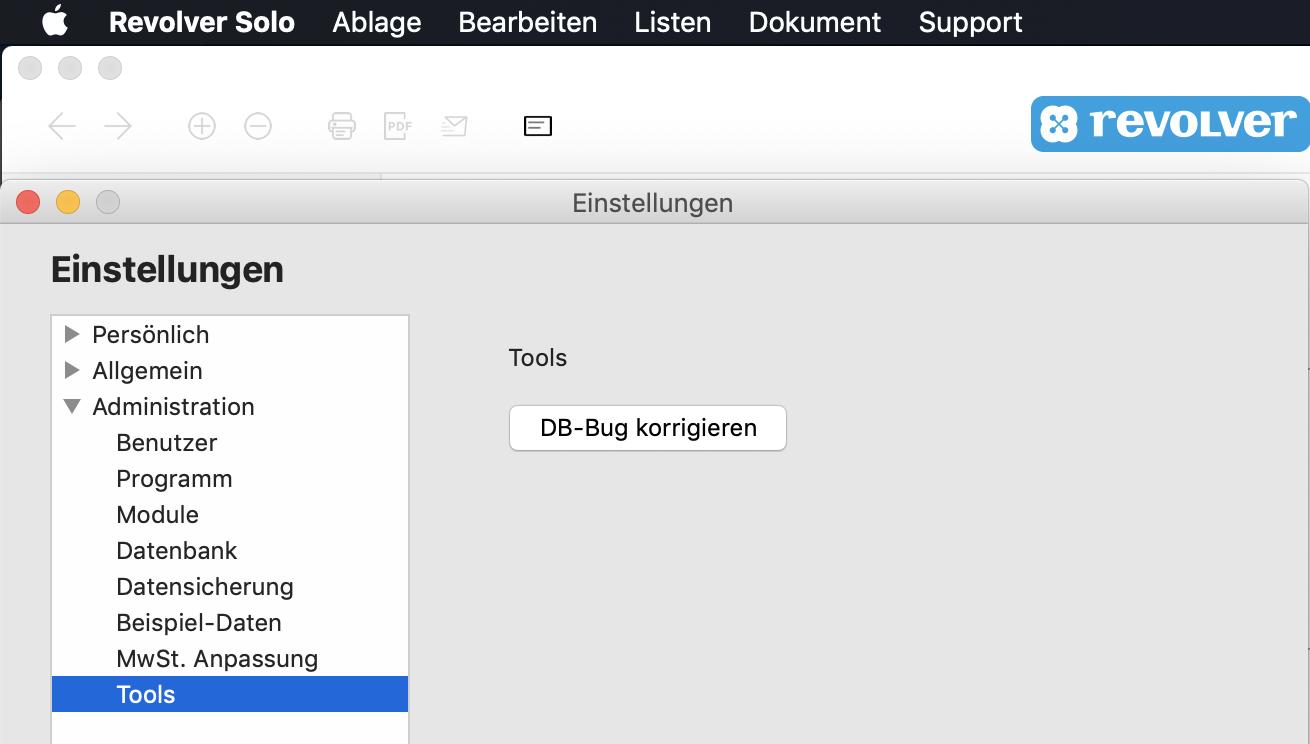 Datenbank-Tool